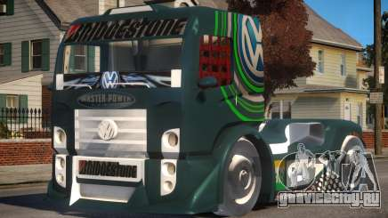 VW Constellation Formula Truck для GTA 4
