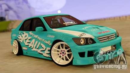 Toyota Altezza Green для GTA San Andreas