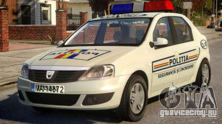 Dacia Logan Police для GTA 4