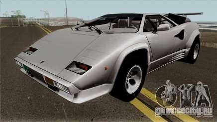 Lamborghini Countach LP5000QV для GTA San Andreas