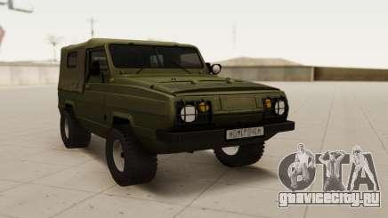 UAZ 3907 [ver. 1.0] для GTA San Andreas