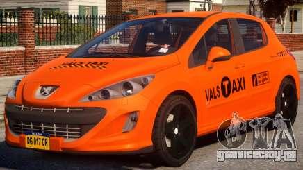 Peugeot Taxi VALS для GTA 4