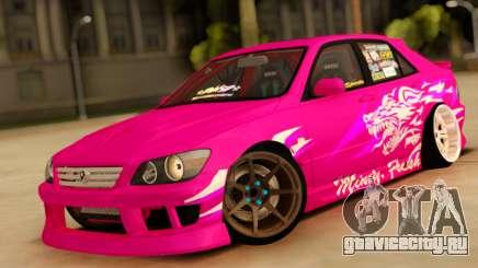Toyota Altezza Pink для GTA San Andreas