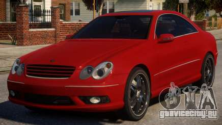 Mercedes-Benz CLK V1 для GTA 4