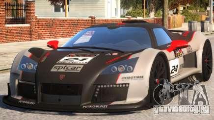 2011 Gumpert Apollo S N24 для GTA 4