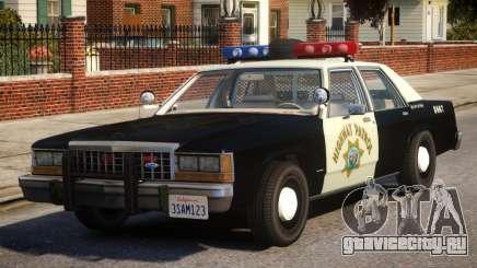 1987 Ford LTD Crown Victoria ELS для GTA 4
