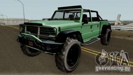 Canis Kamacho GTA V IVF для GTA San Andreas