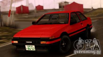 Toyota Corolla AE86 Sprinter Trueno для GTA San Andreas