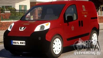 Peugeot Bipper Royal Mail для GTA 4