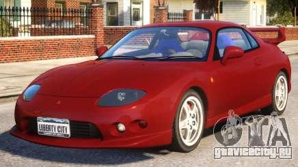 Mitsubishi FTO Red для GTA 4