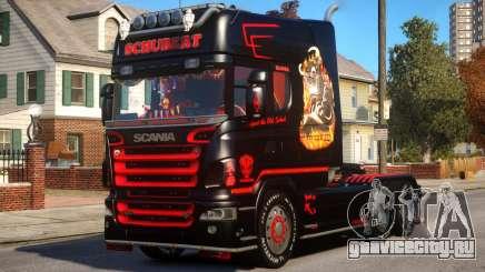Scania R580 Longline Custom PJ13 для GTA 4