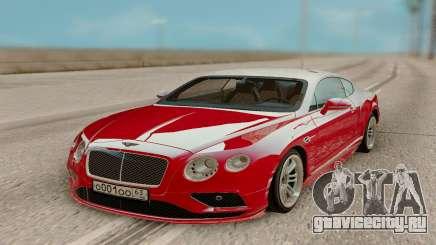 Bentley Continental GT Red для GTA San Andreas