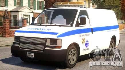 Los Angeles Coroner Van для GTA 4