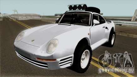 Porsche 959 Rusty Rebel 1987 для GTA San Andreas