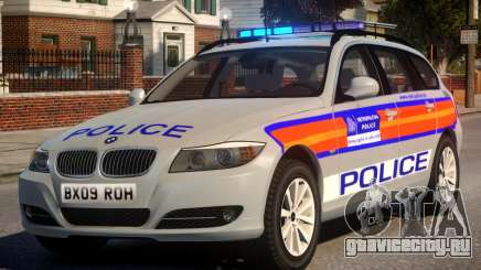 Metropolitan BMW 3 Series ANPR Version для GTA 4