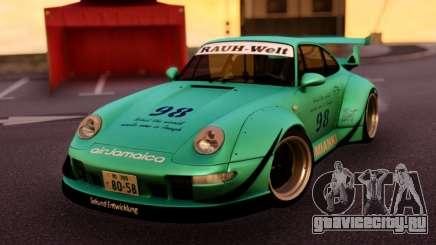 Porsche 993 GT2 RWB LOMIANKI для GTA San Andreas