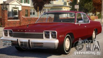 1974 Dodge Monaco V1 для GTA 4
