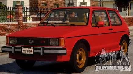 1984 Volkswagen GTI-Rabbit для GTA 4