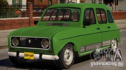 Renault 4 для GTA 4