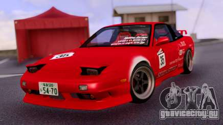 Nissan 180SX Japan Red для GTA San Andreas