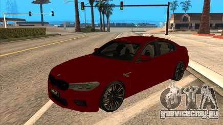 BMW M5 F90 Red для GTA San Andreas