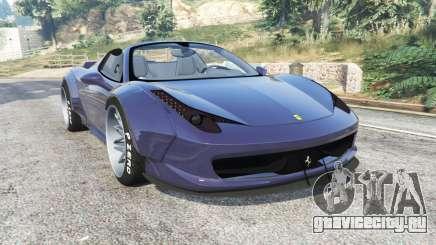 Ferrari 458 Spider LibertyWalk v1.1 [replace] для GTA 5