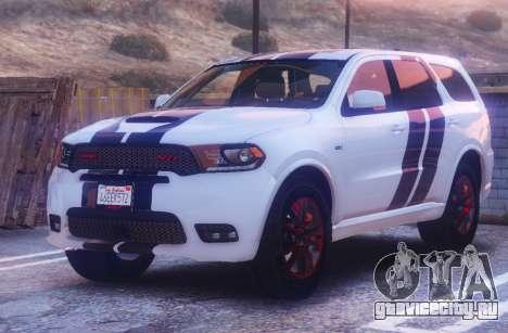 Dodge Durango SRT HD 2018 1.6 для GTA 5