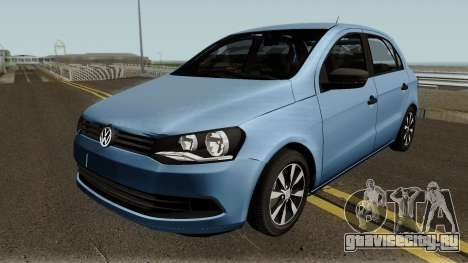 Volkswagen Gol G6 1.6 Flex 2017 для GTA San Andreas