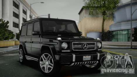 Mercedes-Benz G65 AMG Style Black для GTA San Andreas