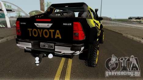 Toyota Hilux Tonka Concept 2017 для GTA San Andreas вид справа