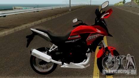 Honda CB500X 2017 для GTA San Andreas