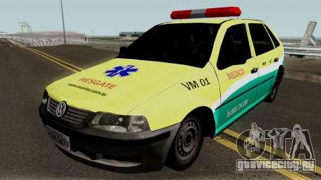 Volkswagen Gol EcoSul для GTA San Andreas