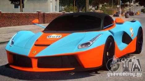Ferrari LaFerrari PJ для GTA 4