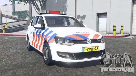 Volkswagen Polo 2011 Politie [ELS] [replace] для GTA 5
