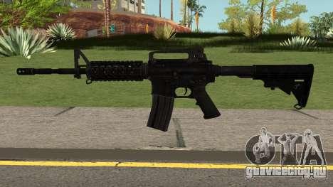 COD: Modern Warfare Remastered M4A1 для GTA San Andreas