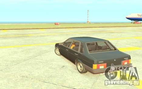 ВАЗ-21099 Короткокрылая для GTA 4 вид справа