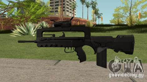 FAMAS Black для GTA San Andreas