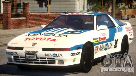 1992 Toyota Supra 3.0 Turbo PJ1 для GTA 4