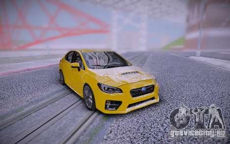 2018 Subaru WRX STI 4Dr Sport Pkg 6sp для GTA San Andreas
