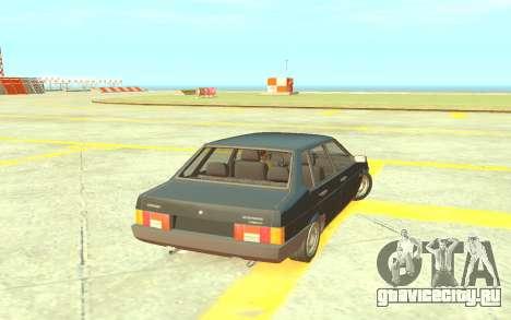 ВАЗ-21099 Короткокрылая для GTA 4 вид слева