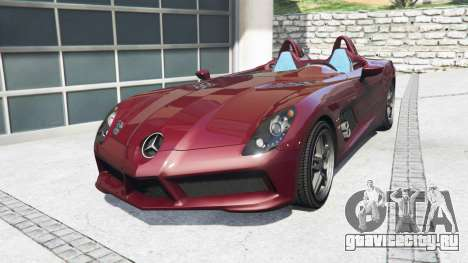 Mercedes-Benz SLR McLaren (Z199) 2009 [add-on] для GTA 5
