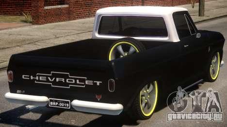 Chevrolet C-10 для GTA 4 вид справа