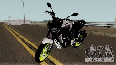 Yamaha MT-09 2017 для GTA San Andreas