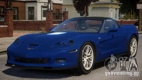 ZR1 Chevrolet Corvette  для GTA 4
