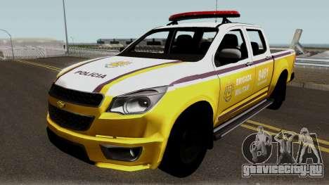 Chevrolet S-10 CRBM для GTA San Andreas
