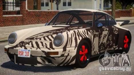 1974 Porsche 911 PJ6 для GTA 4