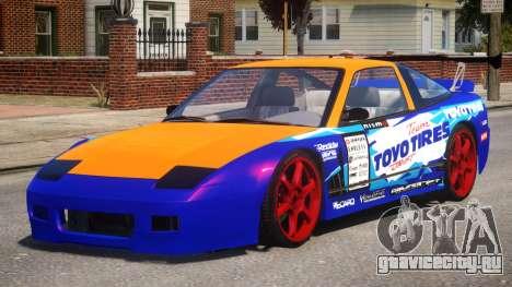 Nissan 240SX Drift Car для GTA 4