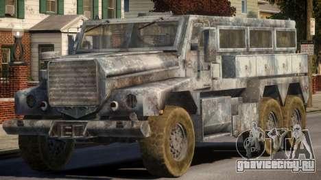 MRAP Cougar 6x6 для GTA 4