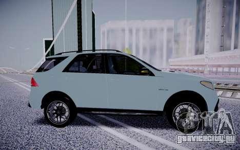 Mercedes-Benz GLE 63S для GTA San Andreas