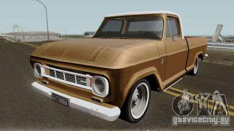 Chevrolet C-10 1974 IVF для GTA San Andreas